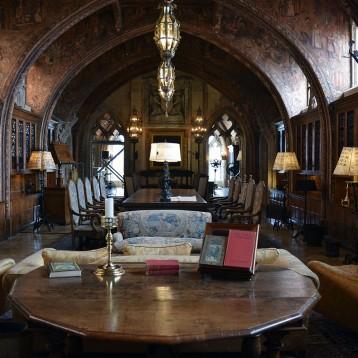 Dining Room inside Hearst Castle